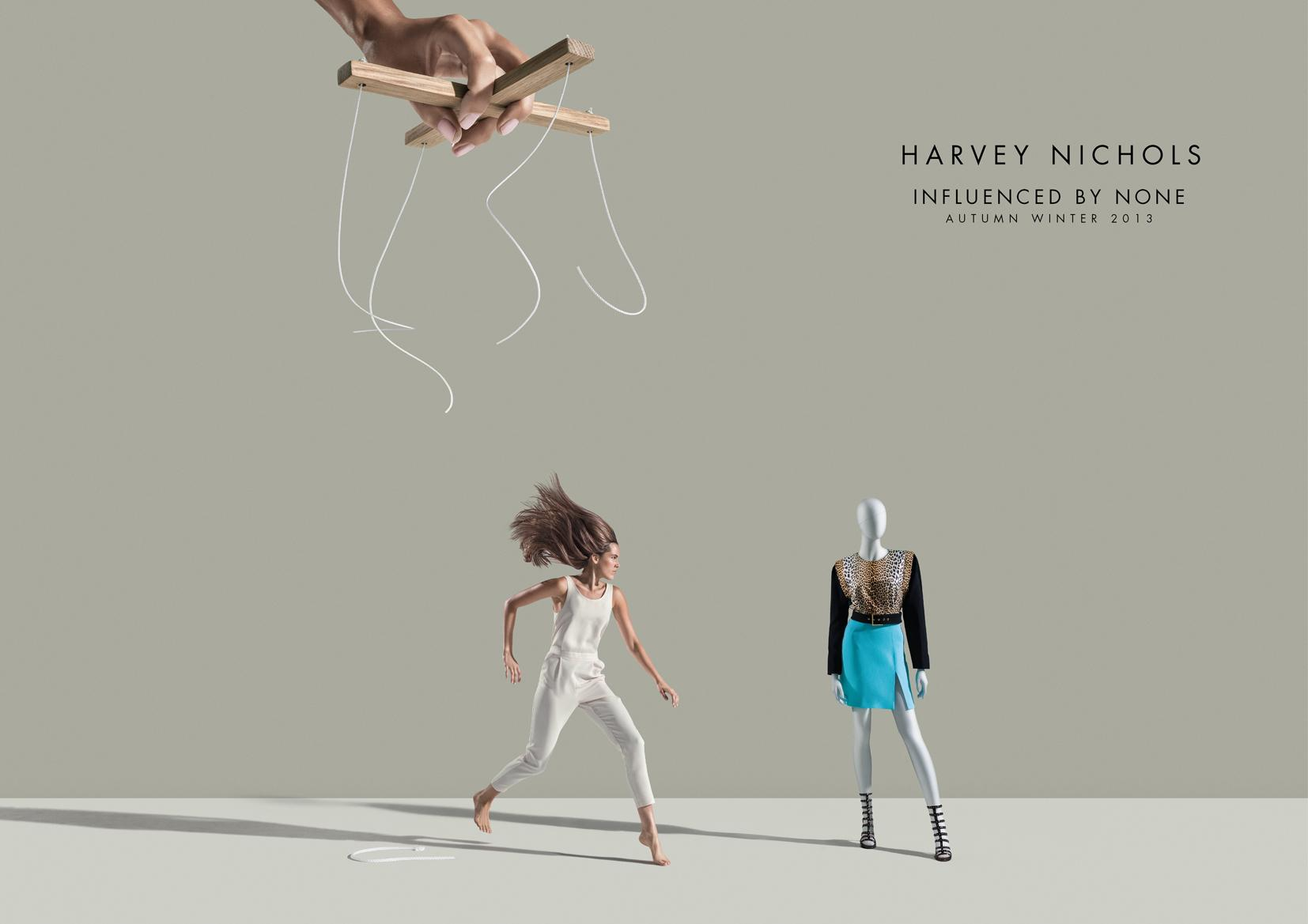harvey nichols print advert by fp7 jump ads of the world. Black Bedroom Furniture Sets. Home Design Ideas