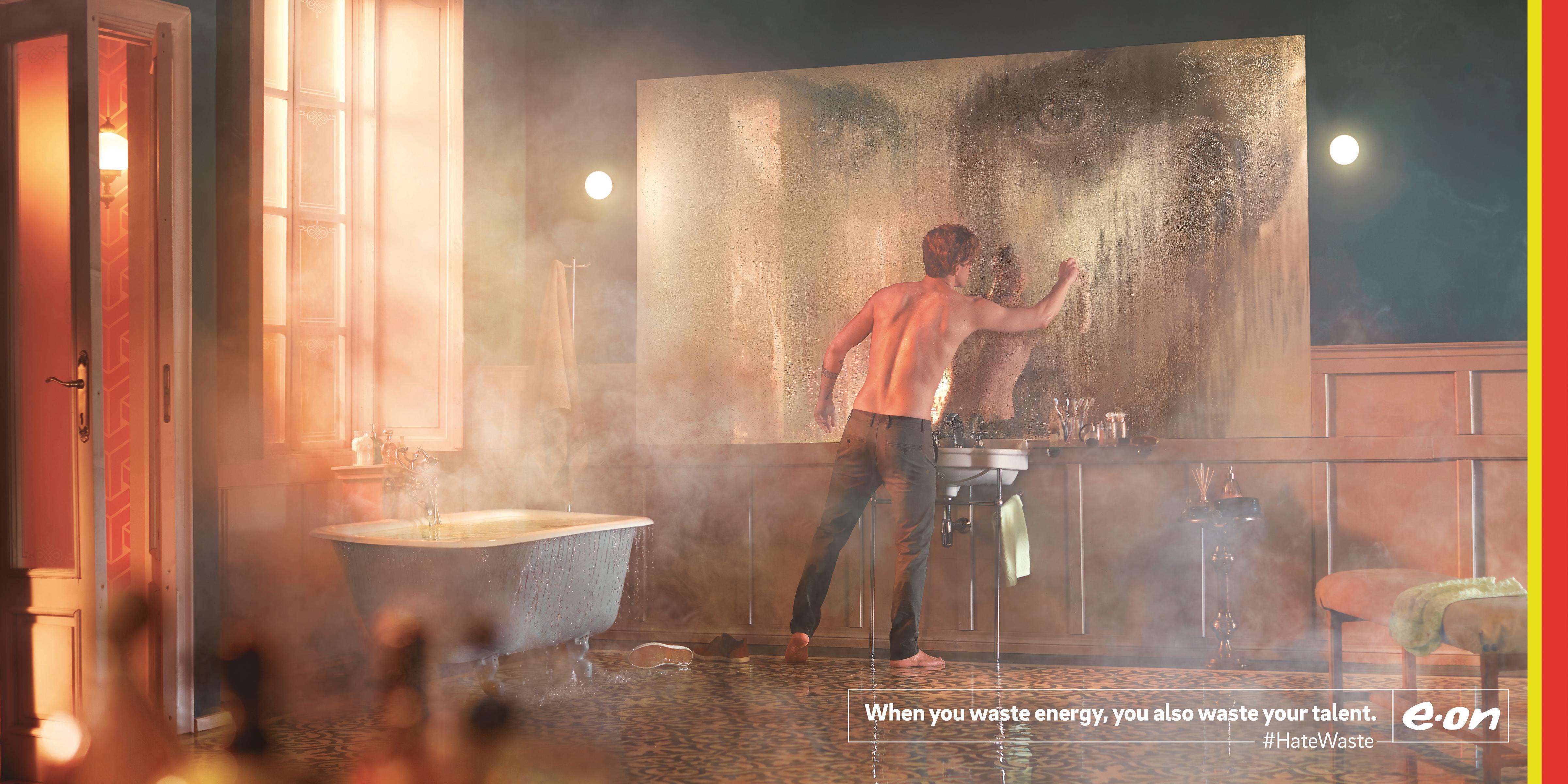 E.ON Print Ad - #HateWaste - Talent