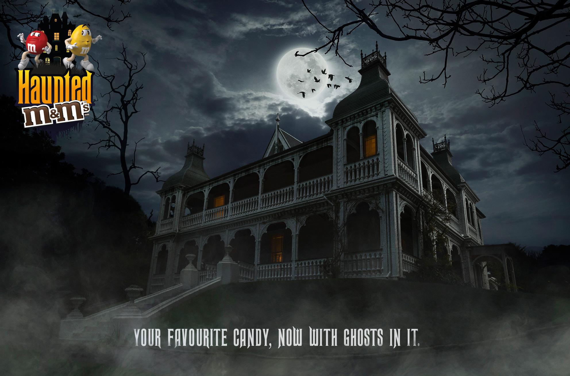 M&M's Direct Ad - Haunted