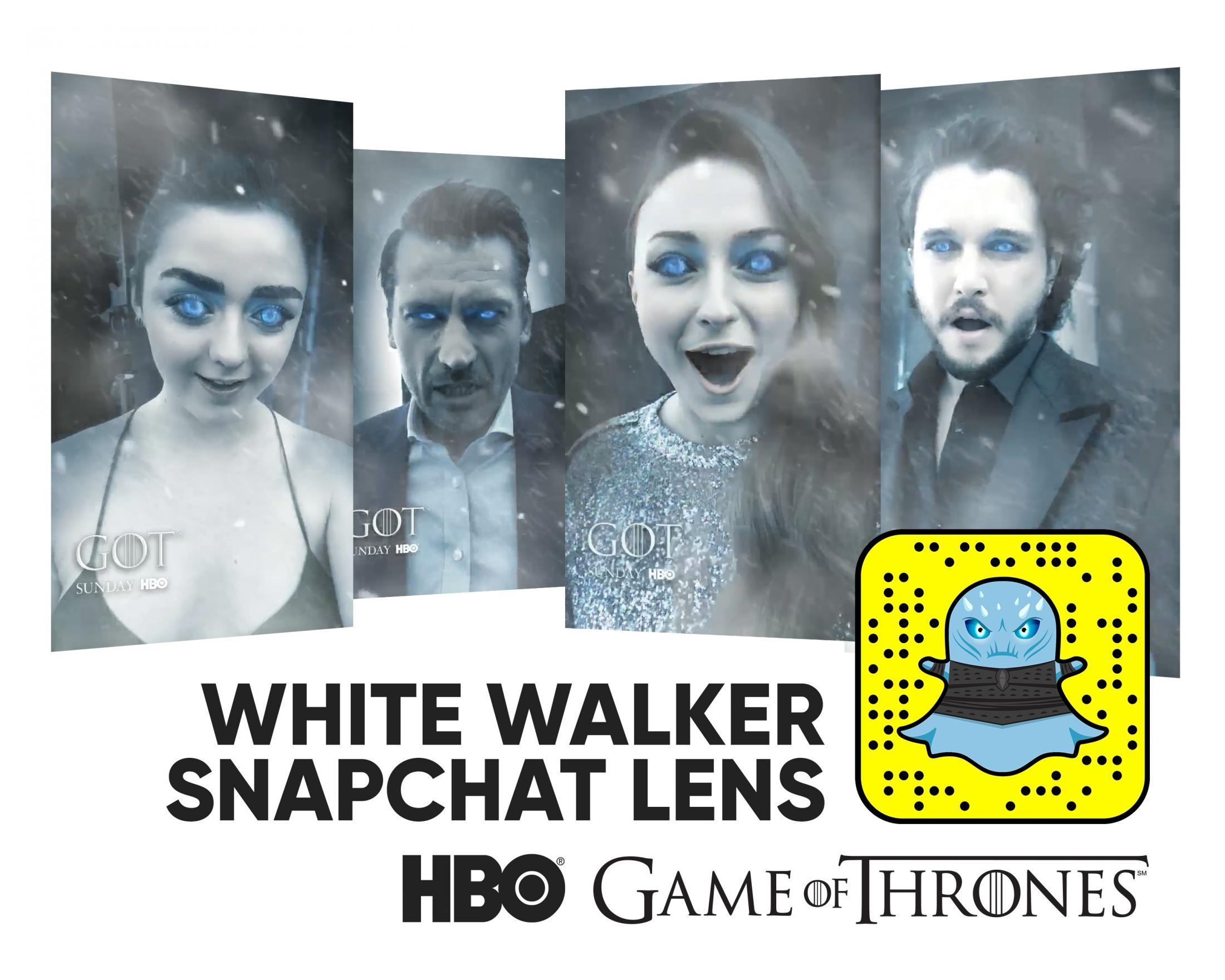HBO Digital Ad - Game of Thrones: White Walker Lens