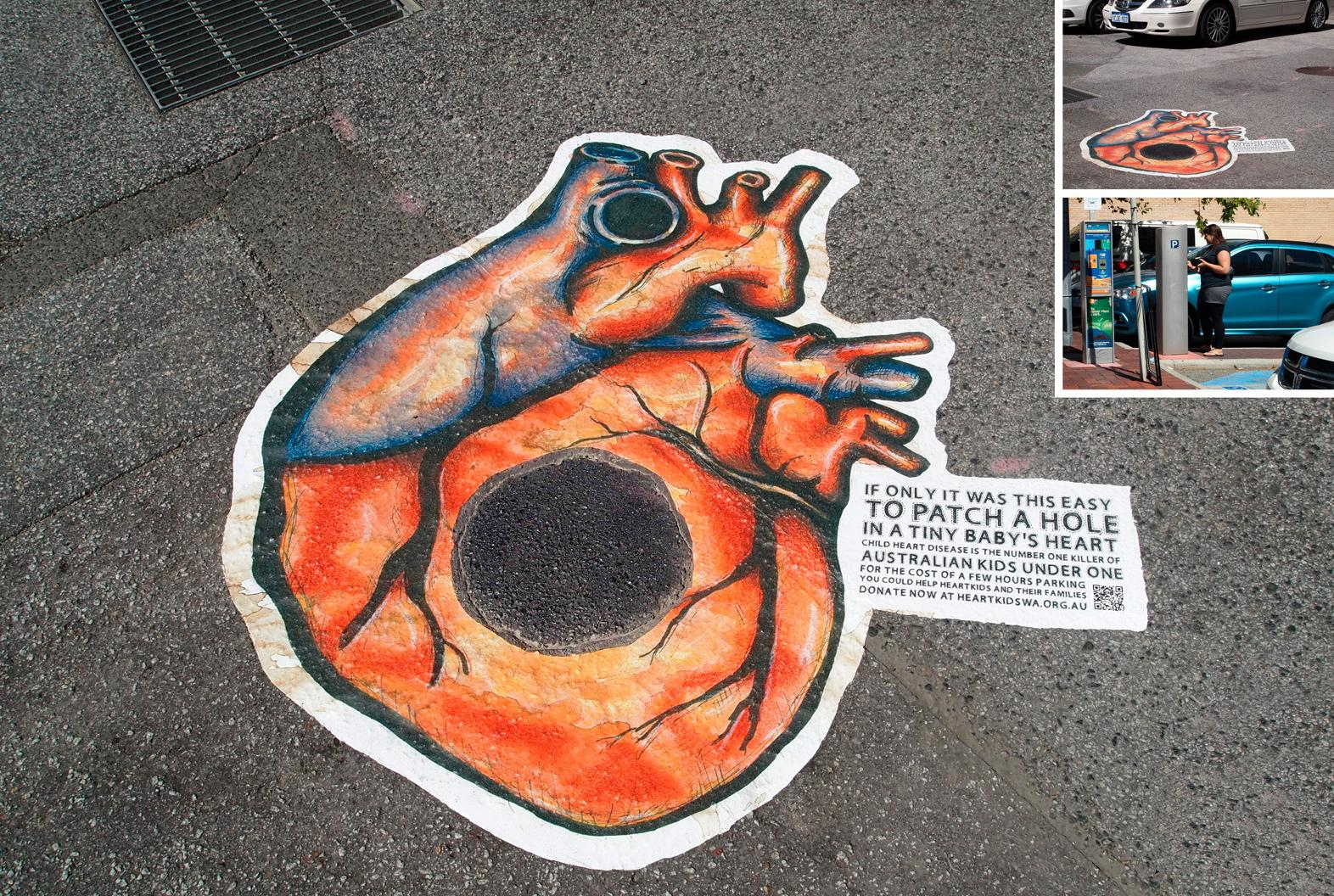 HeartKids Outdoor Ad -  Leaky heart, 3