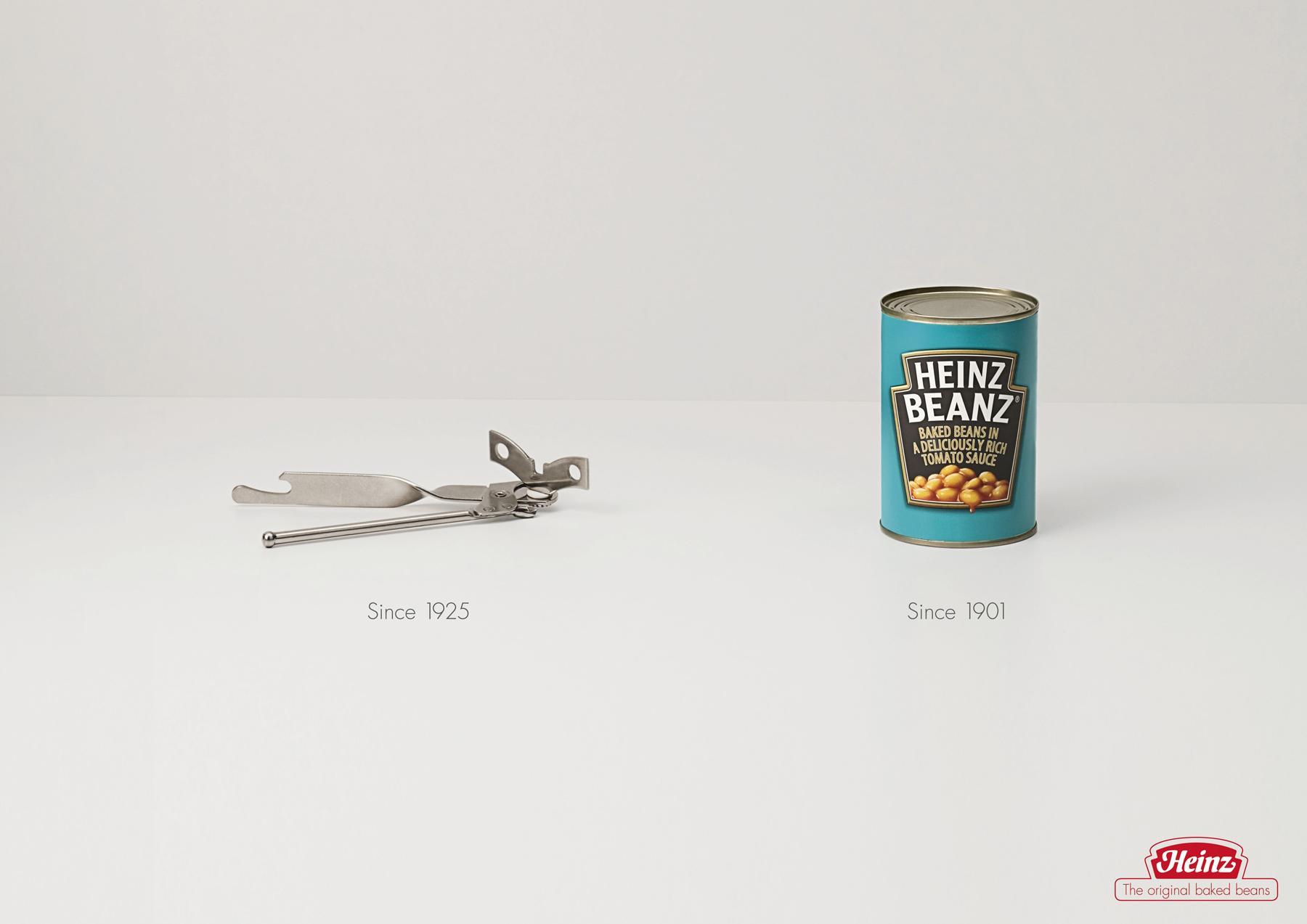 Heinz Print Ad -  Can opener