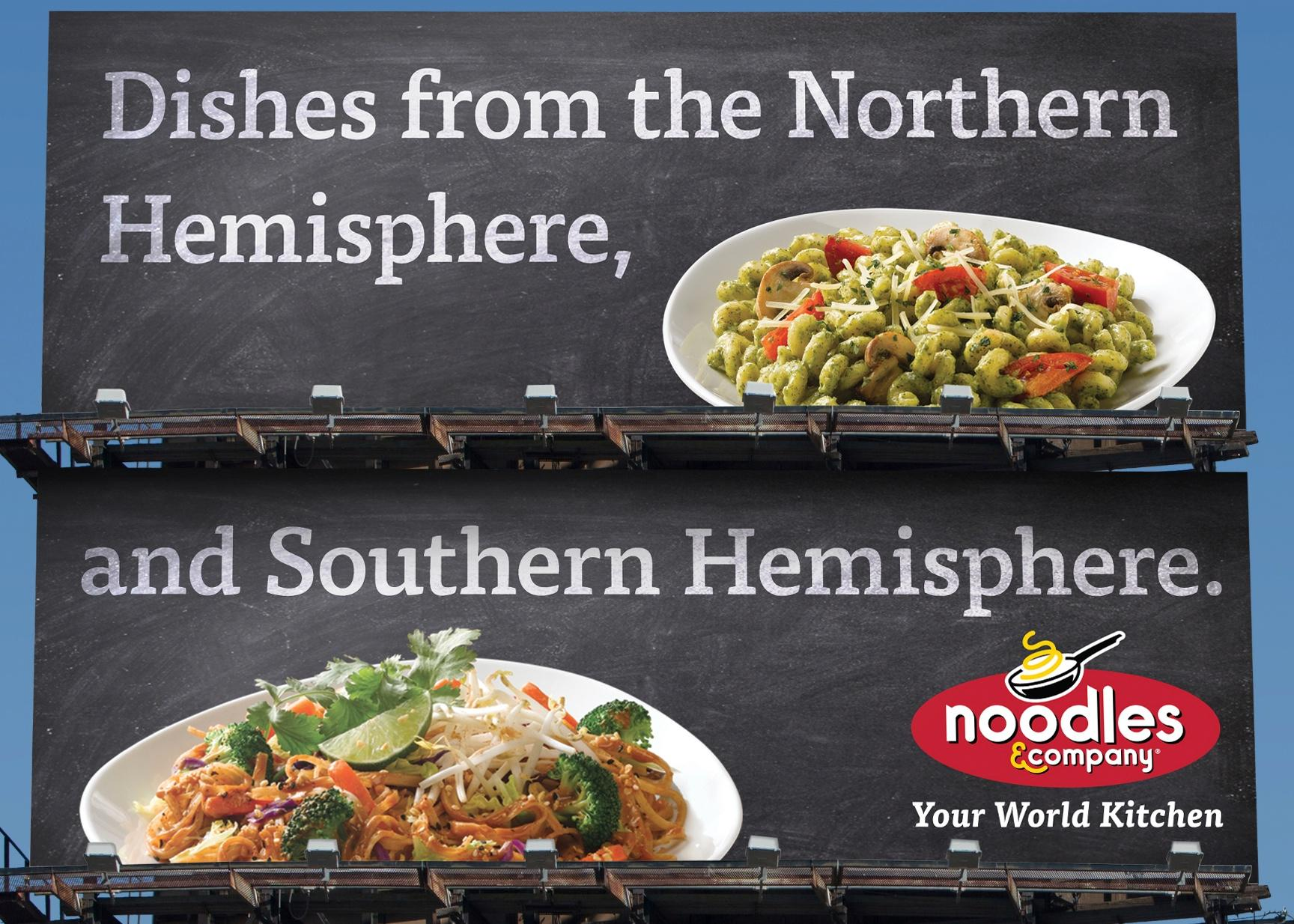 Noodles & Company Outdoor Ad -  Hemispheres