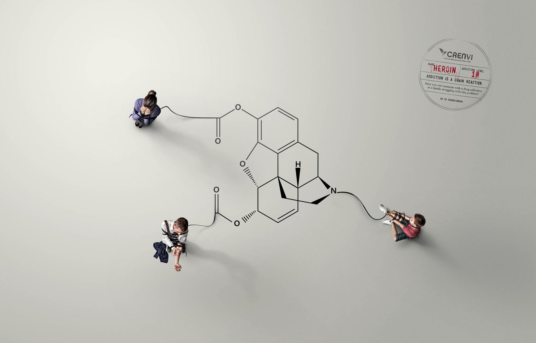 Crenvi Print Ad -  Heroin