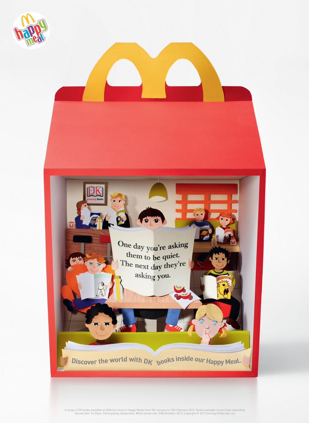 McDonald's Print Ad -  Books