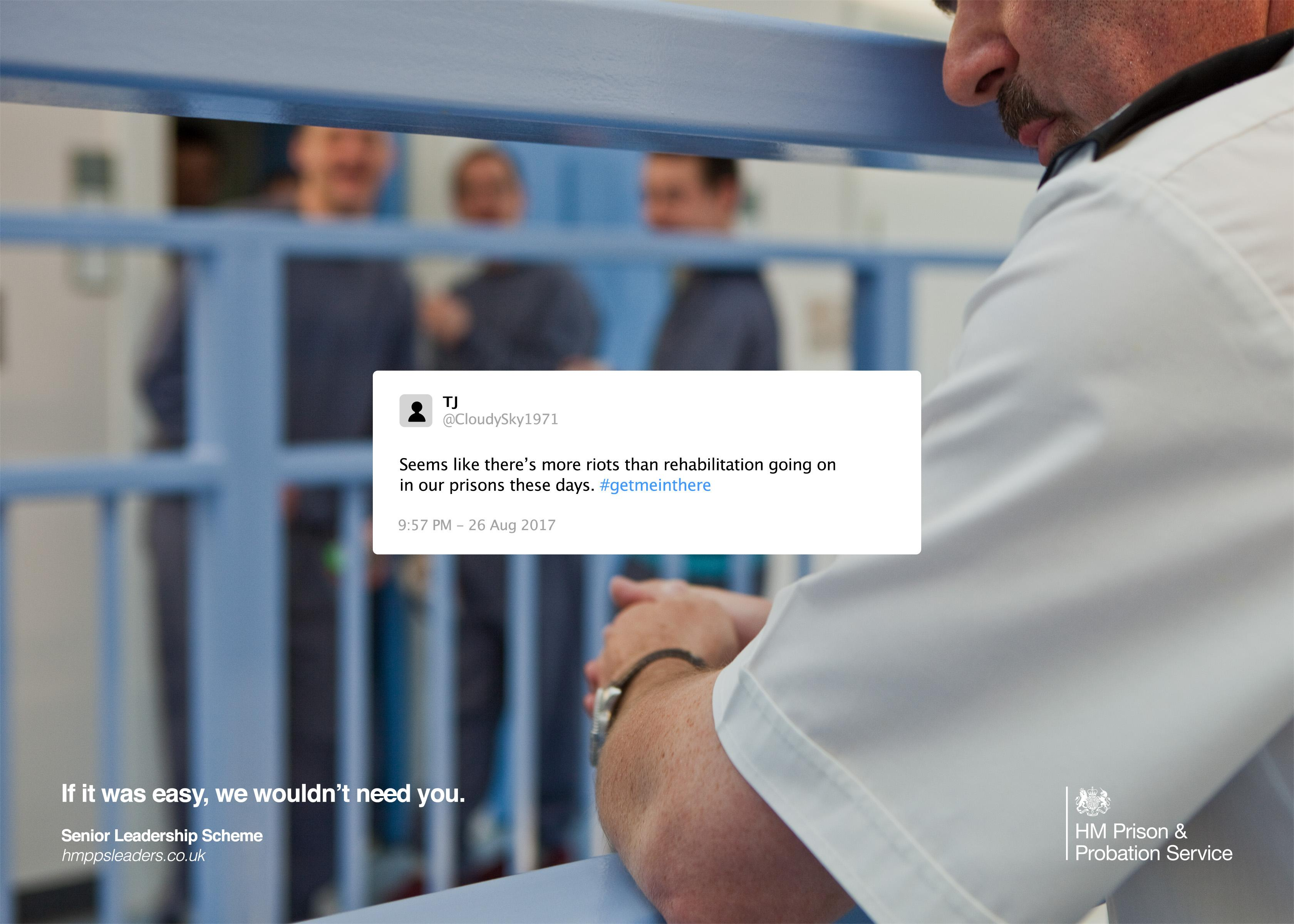 Her Majesty's Prison & Probation Service Digital Ad - If It Was Easy, We Wouldn't Need You, 2