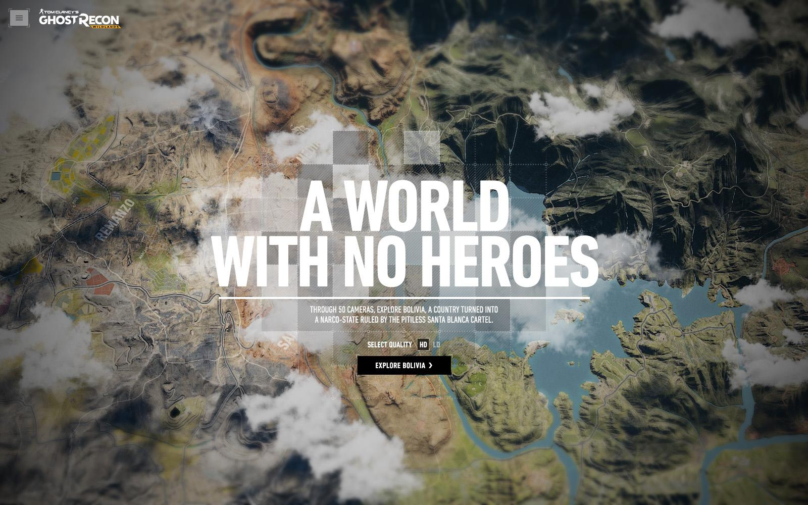 Ghost Recon Digital Ad - A World with No Heroes