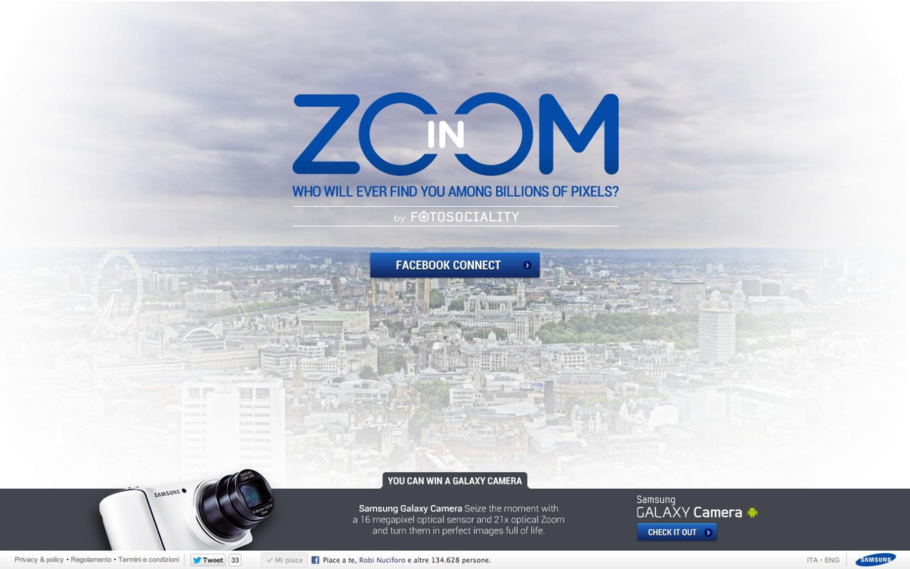 Samsung Digital Ad -  Zoom-in by Fotosociality