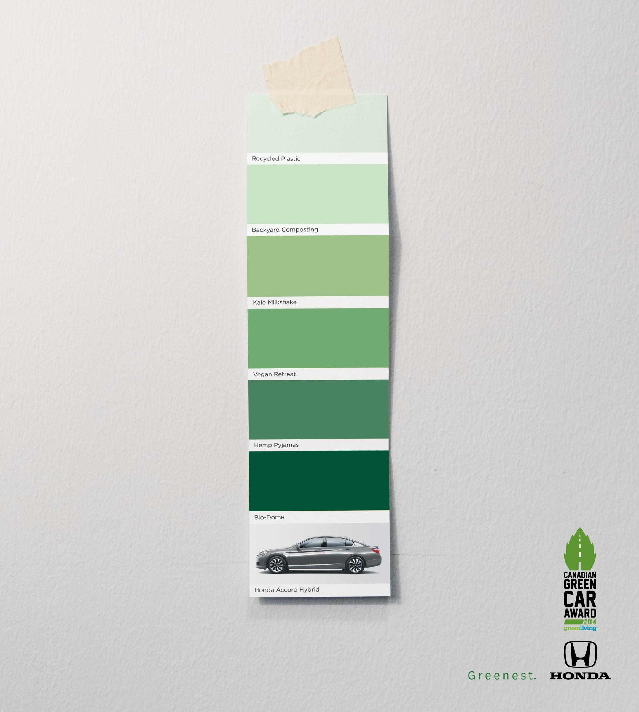 Honda Print Advert By Grip Limited Greenest