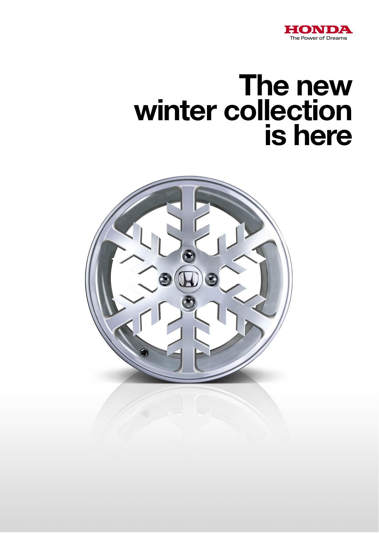 Honda Print Ad -  Snowflake