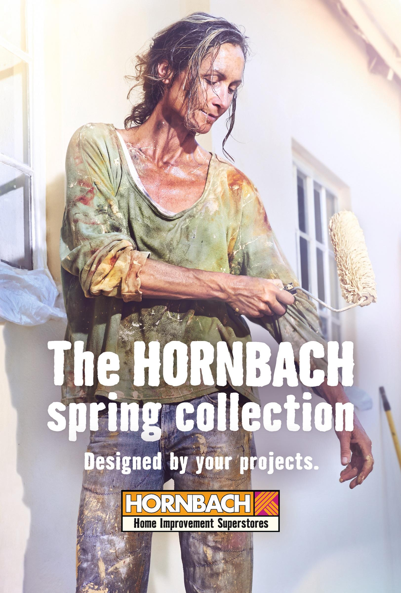 Hornbach Print Ad -  Designed by your projects, 2