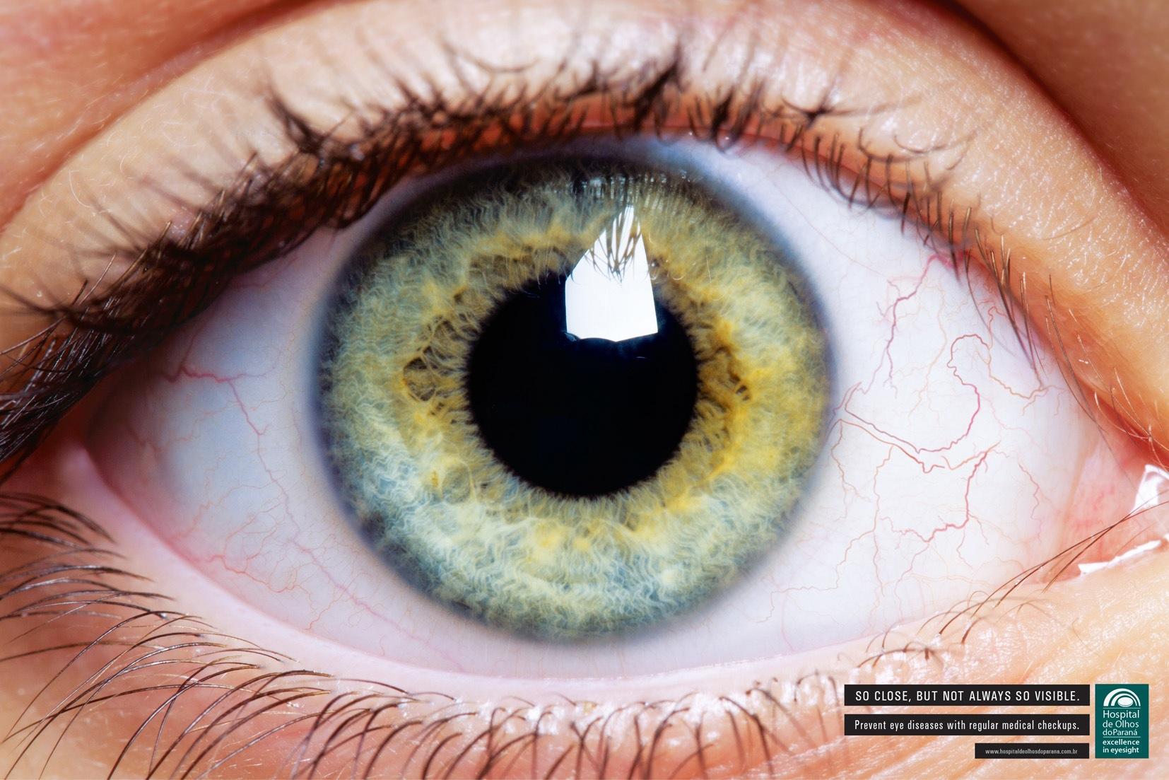 Hospital de Olhos do Paraná Print Ad -  Eye, 1