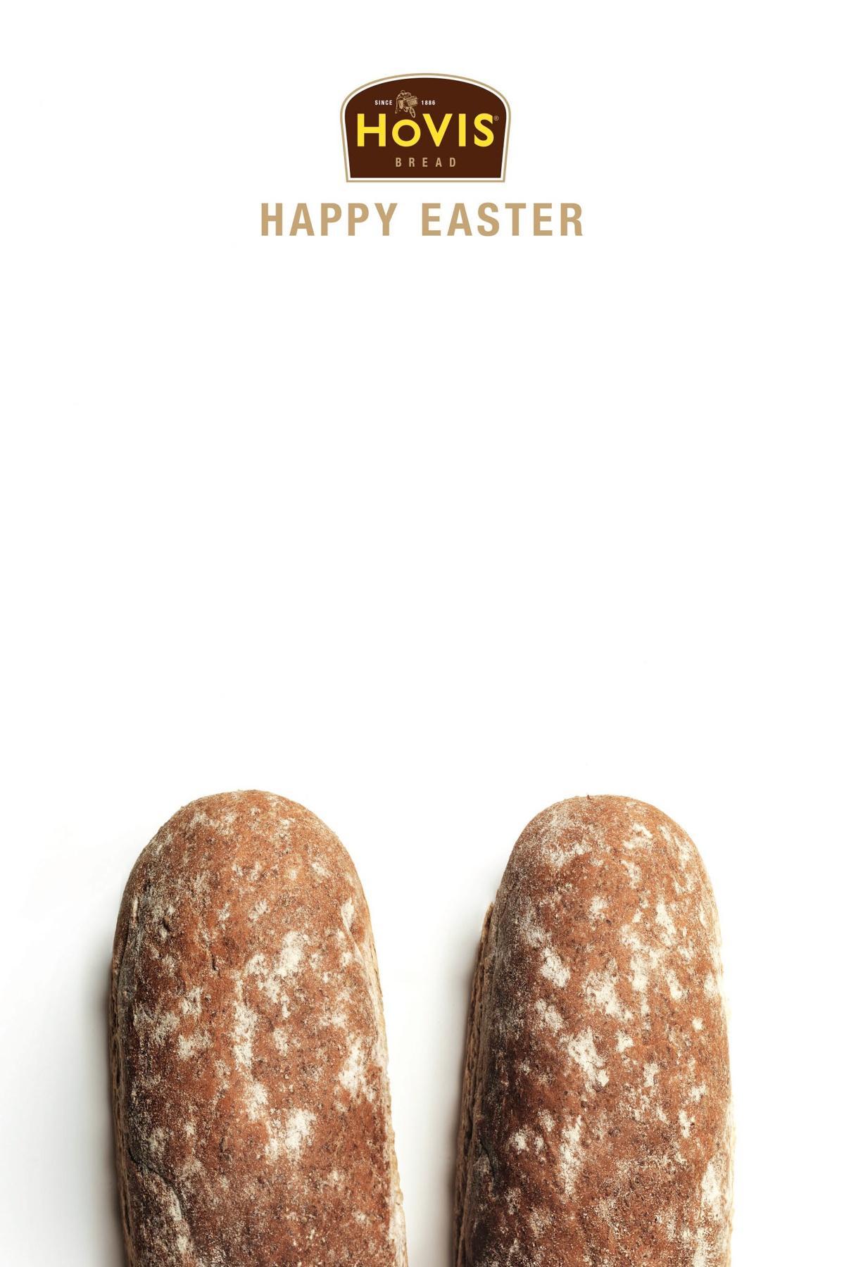 Hovis Print Ad -  Bunny