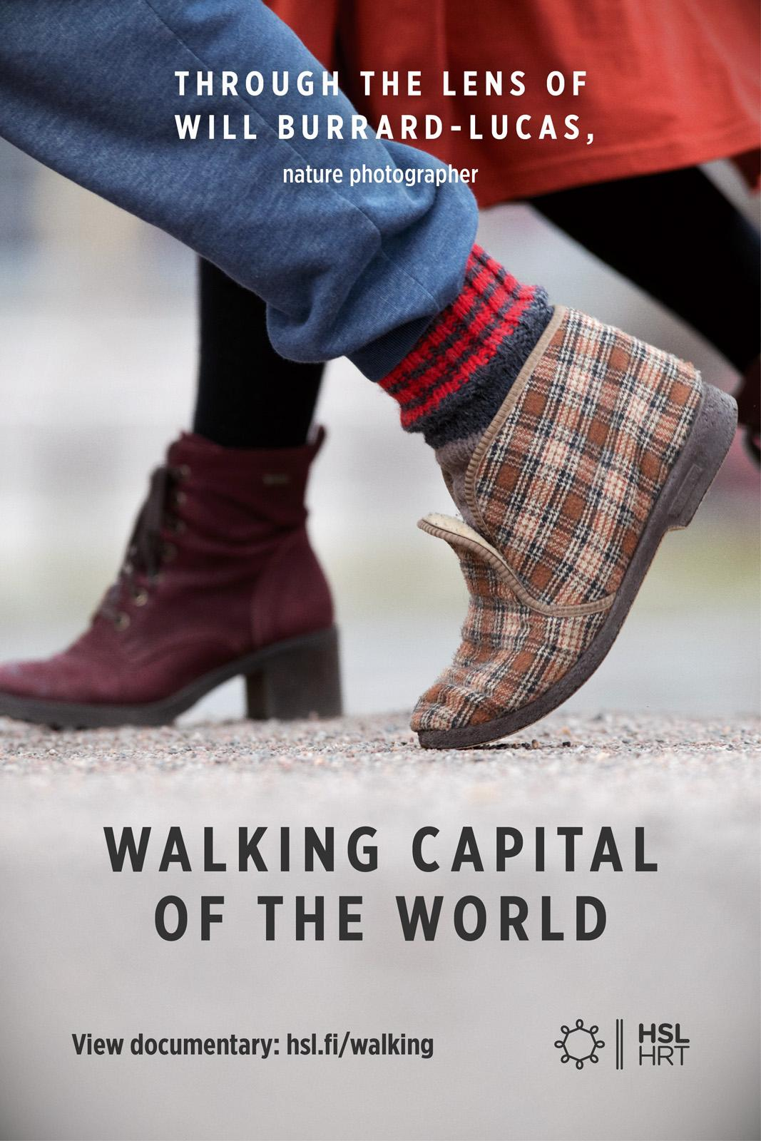 HSL Integrated Ad -  The Walking Capital of the World