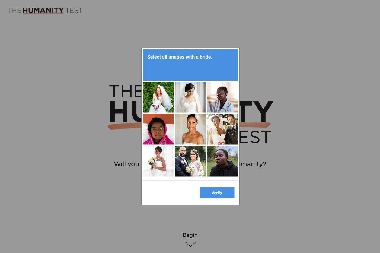 UN Women Digital Ad - Will You Pass The Humanity Test?