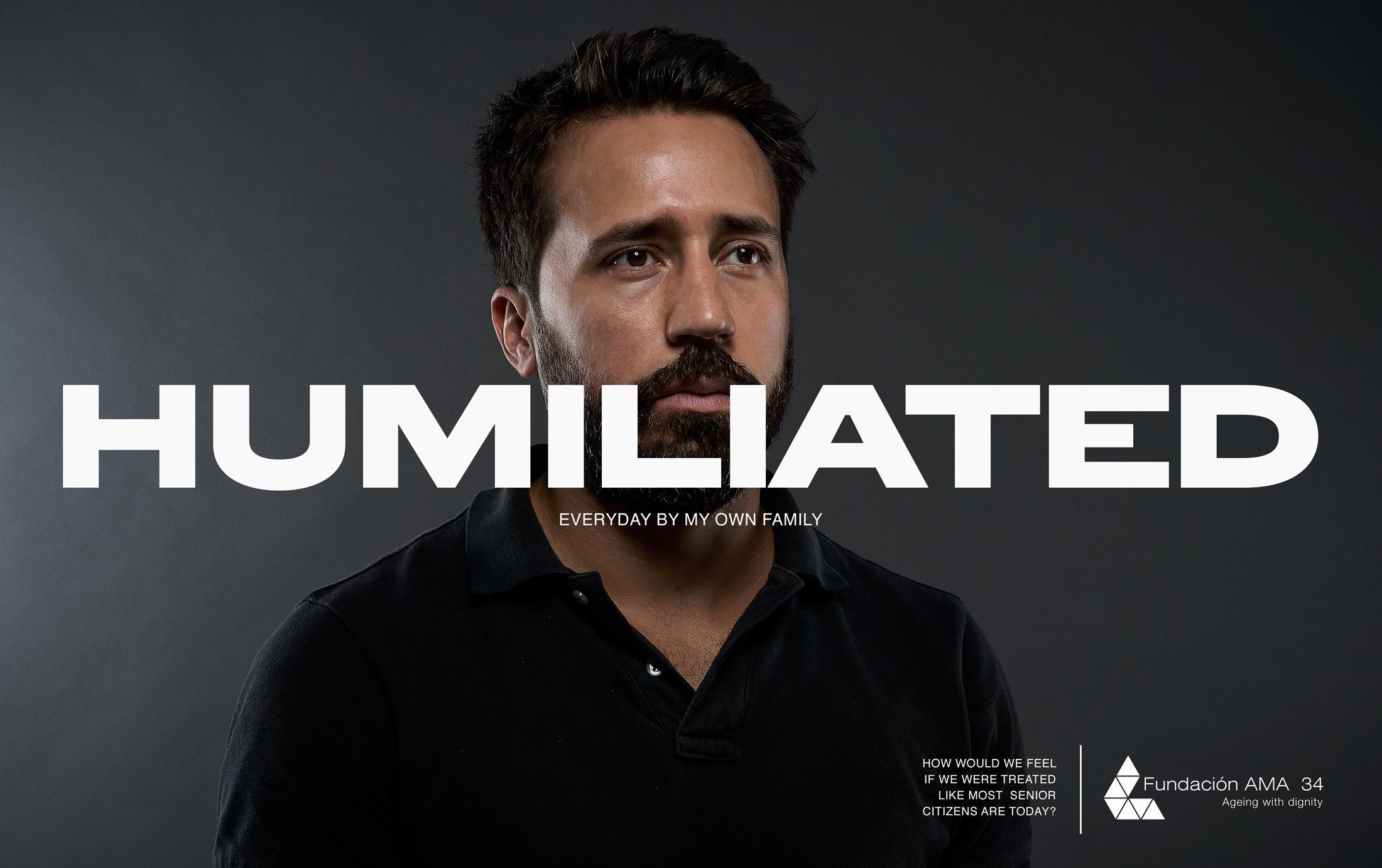 AMA 34 Foundation Print Ad - Humiliated
