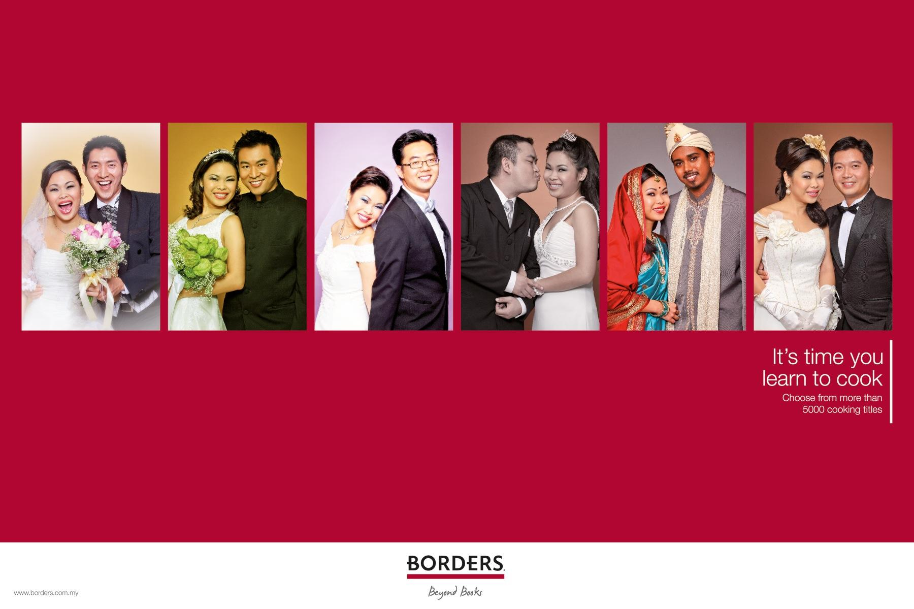Borders Print Ad -  Husbands