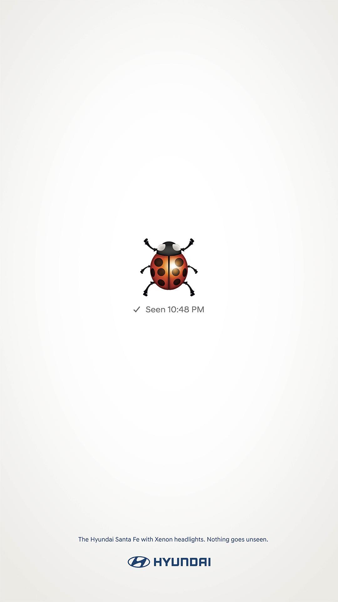 Hyundai Print Ad - Ladybird