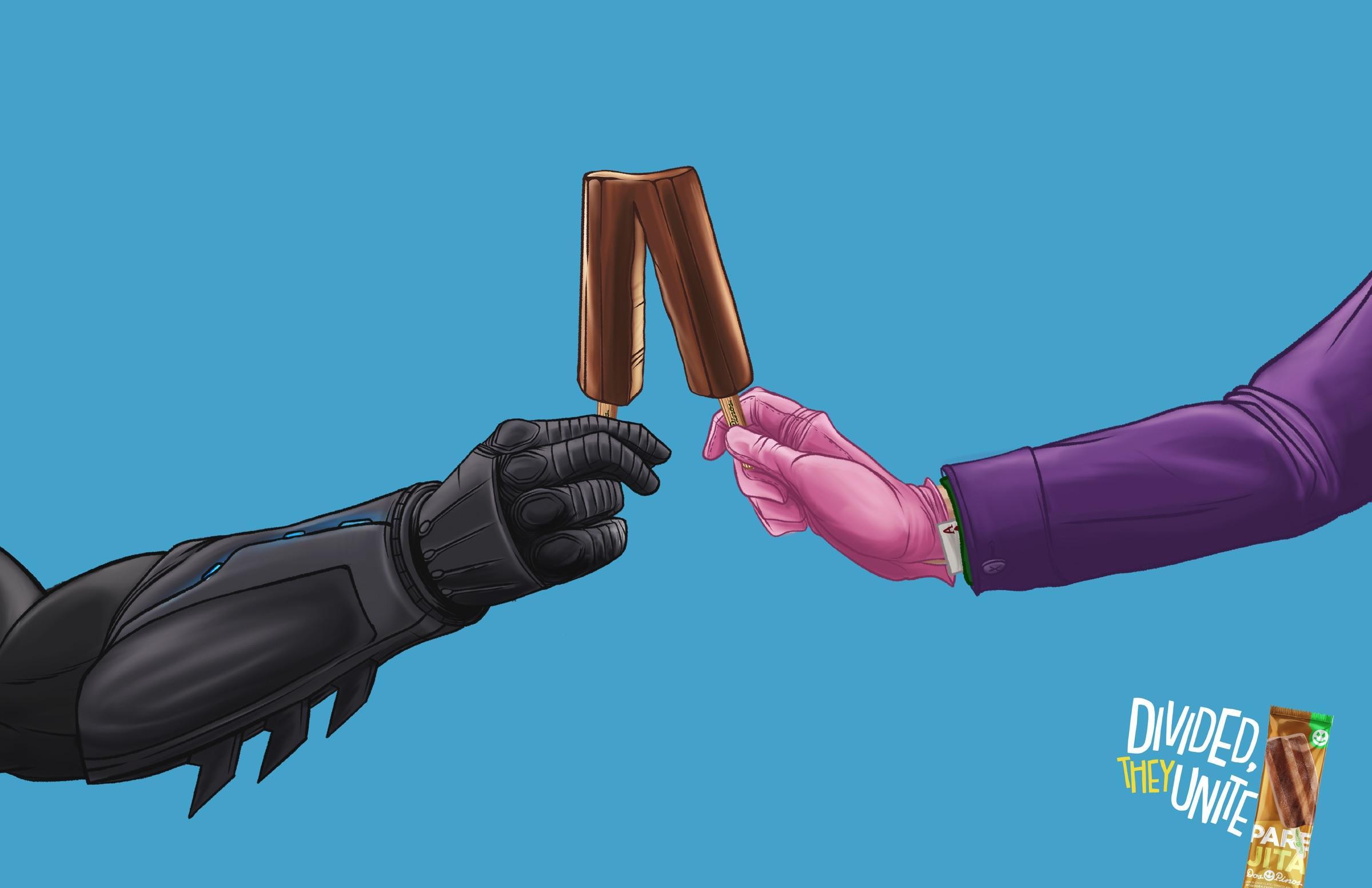 Dos Pinos Print Ad - Parejita Ice Cream, 2