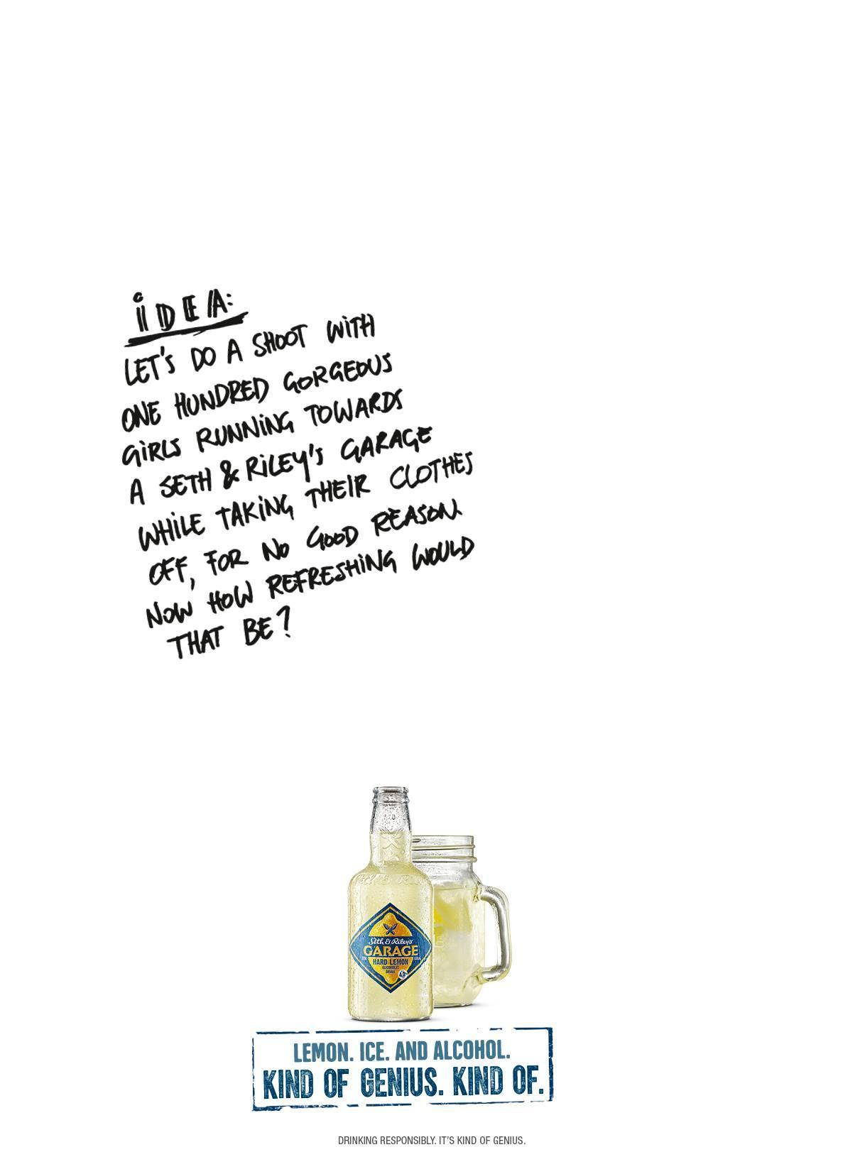 Seth & Riley's Garage Print Ad -  Idea, 3