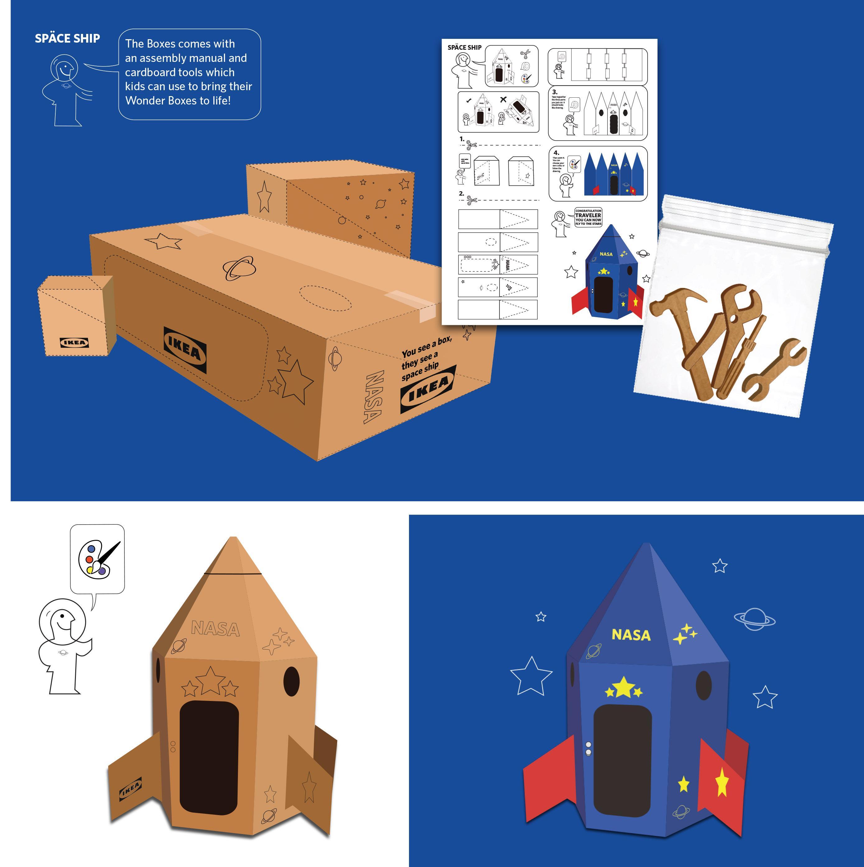 IKEA Design Ad - Space Ship