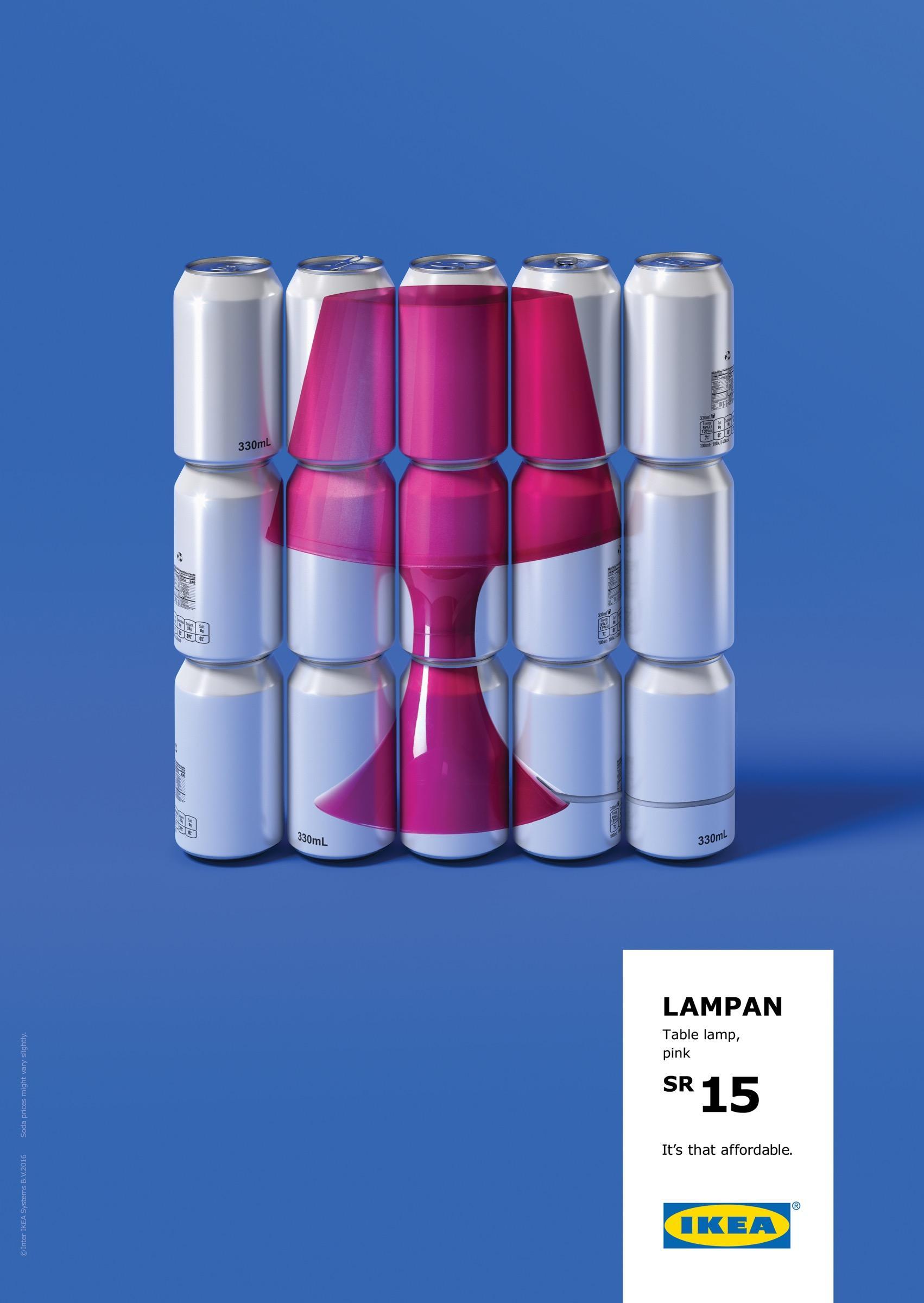 IKEA Print Ad   Lamp