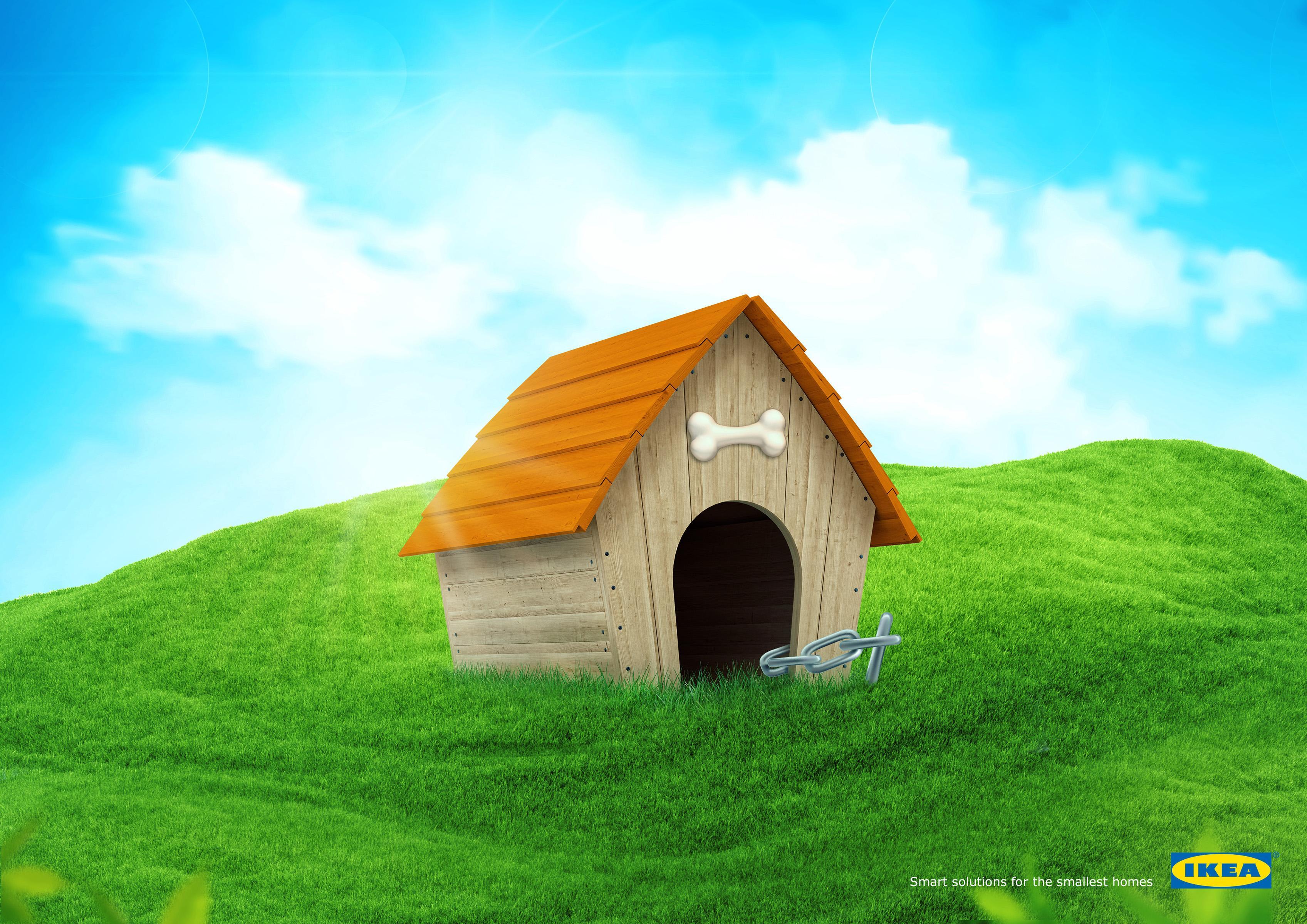 IKEA Print Ad - Smart Solution - Dog House