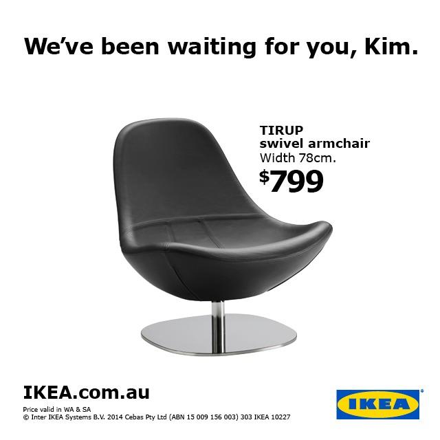 ikea print advert by lowe chair ads of the world