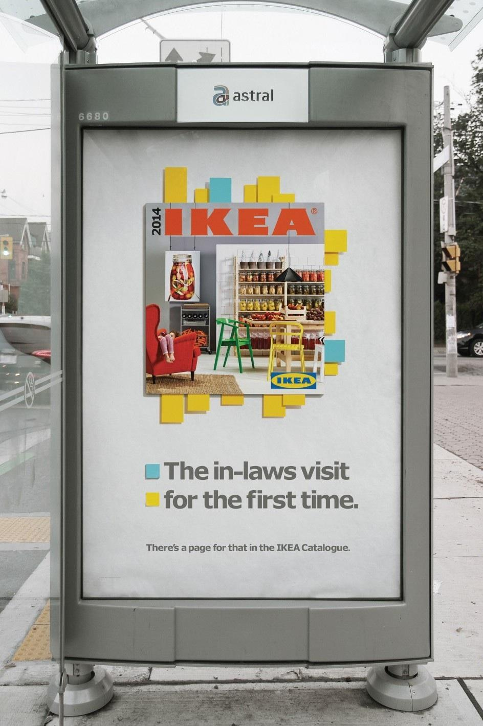 IKEA Outdoor Ad -  In-laws