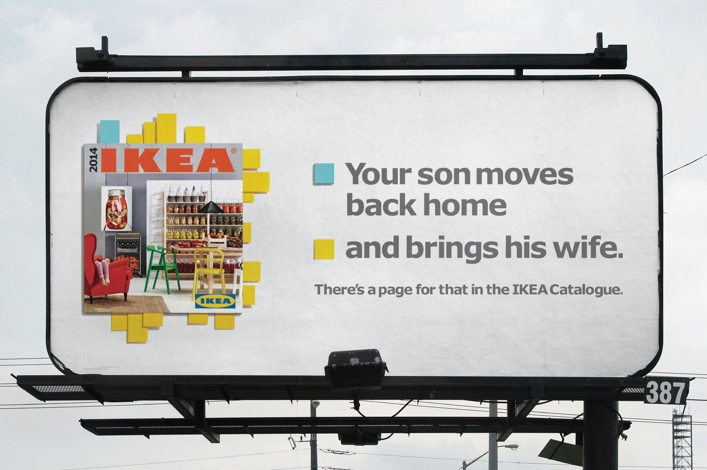 IKEA Outdoor Ad -  Son