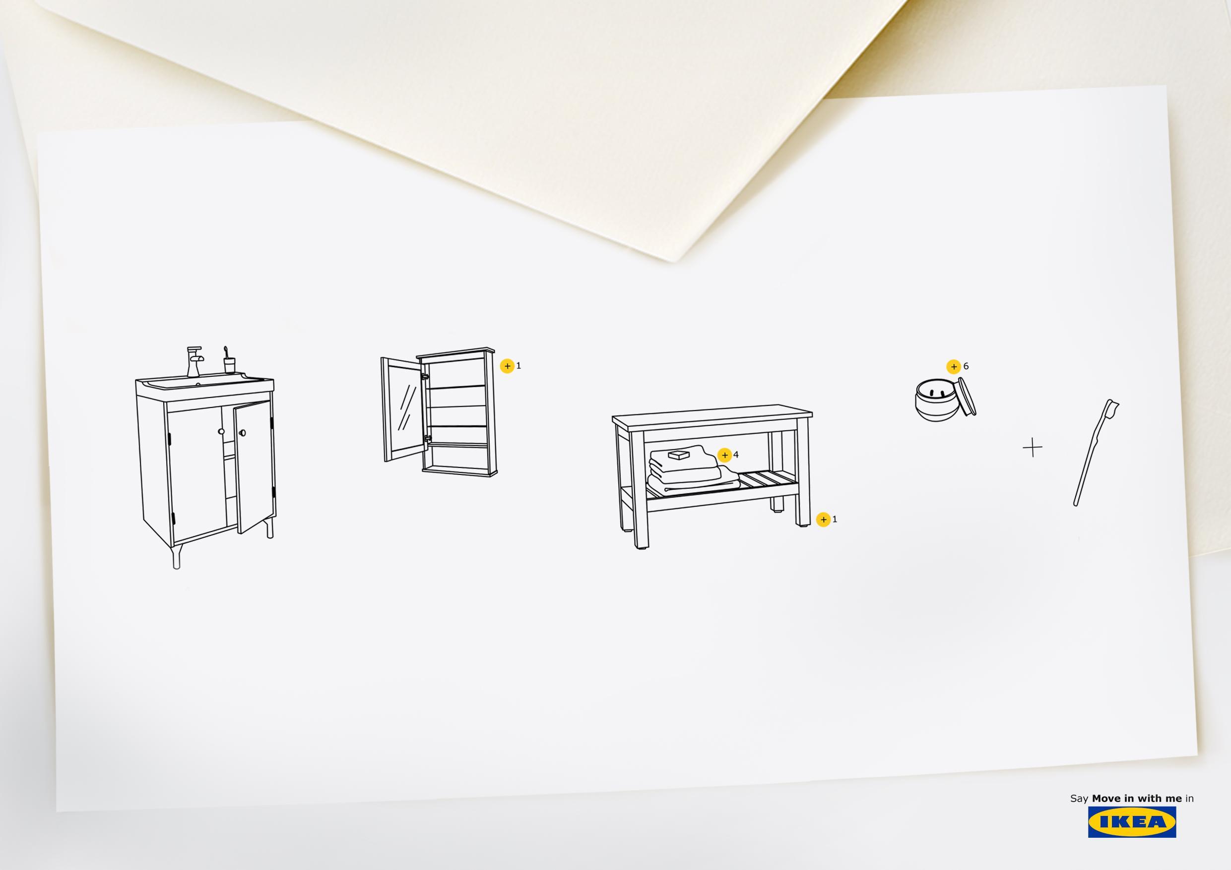 IKEA Print Ad - Say It In IKEA, 1