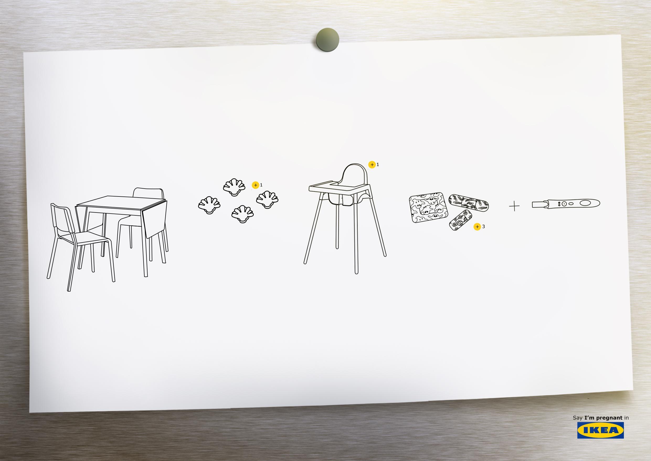 IKEA Print Ad - Say It In IKEA, 3