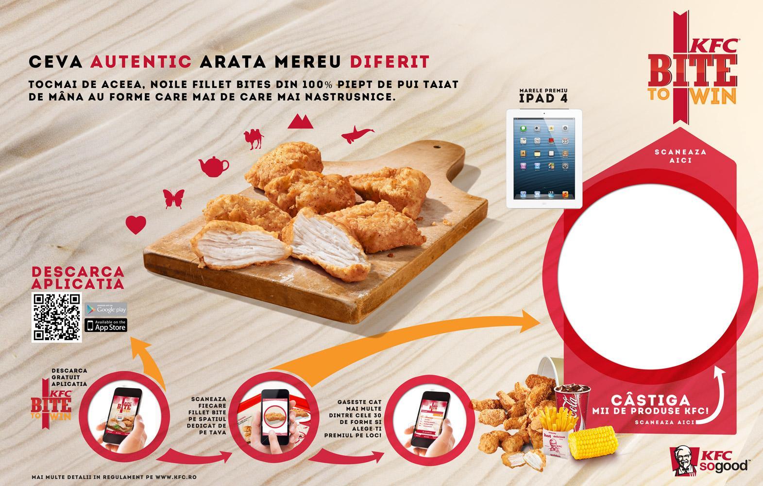 KFC Digital Ad -  Scan the bites