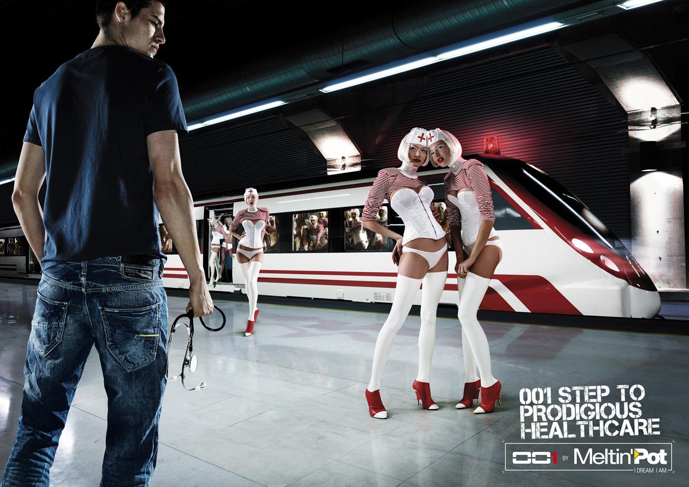 Meltin'Pot Print Ad -  001 Step to prodigious healthcare