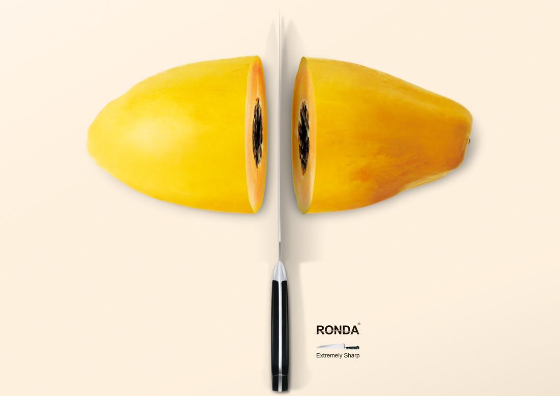 Ronda Print Ad -  Papaya