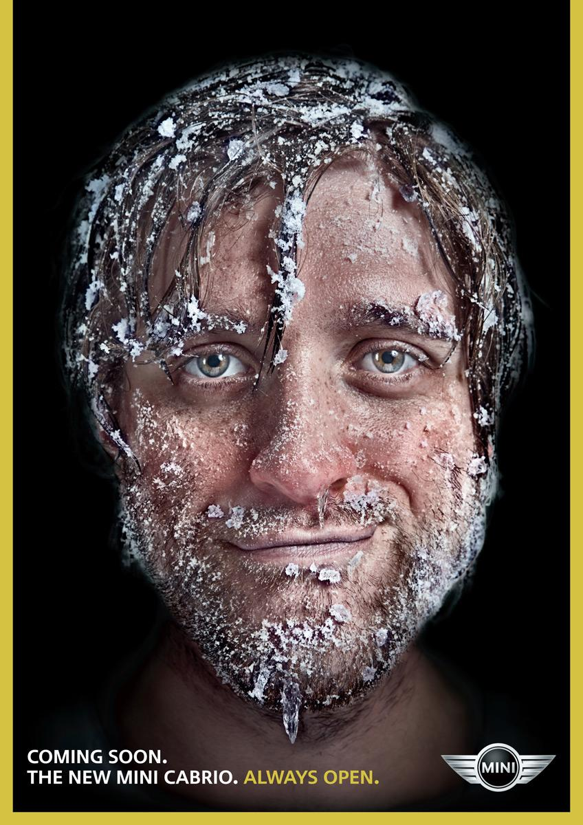 Mini Print Ad -  Ice