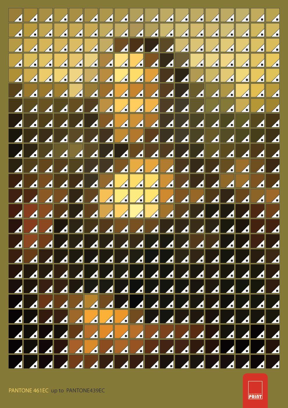 Skenpoint Print Ad -  Mona Lisa