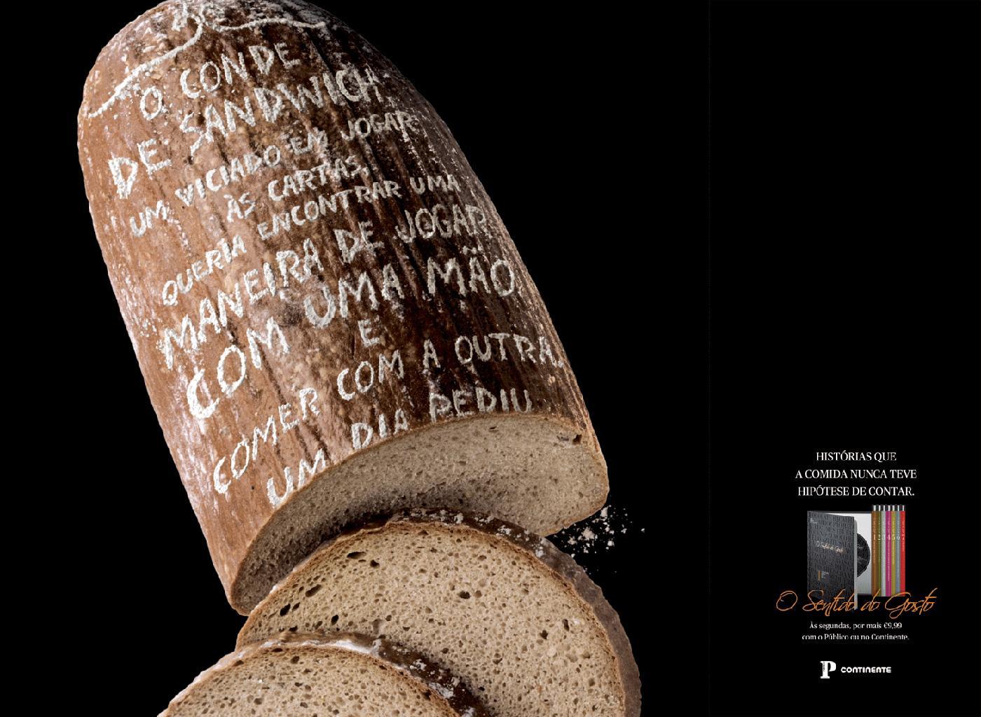 O Sentido do Gosto Print Ad -  Bread