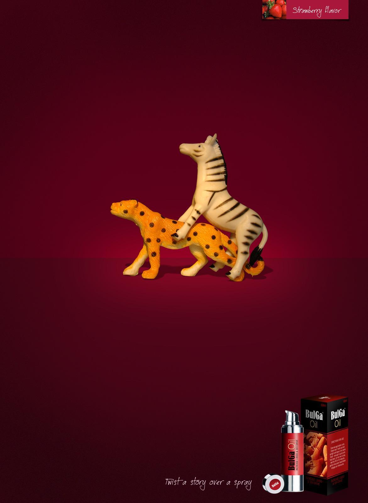 BulGa Oil Print Ad -  Increase libido & sex drive, 1