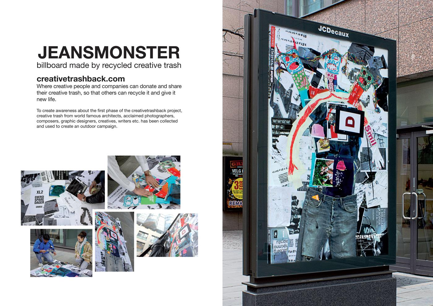 creativetrashback Outdoor Ad -  Jeansmonster