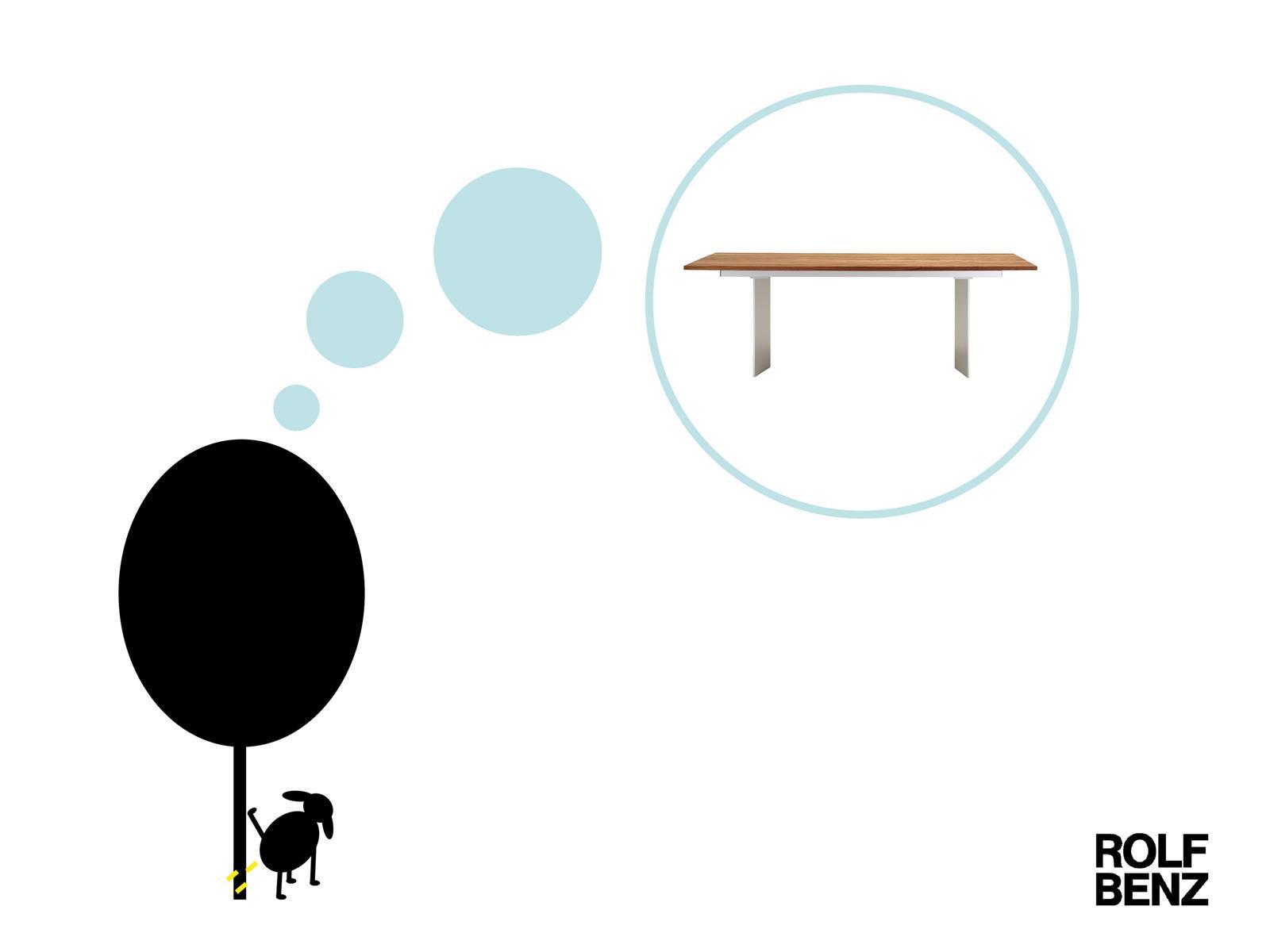 Rolf Benz Print Ad -  Dog