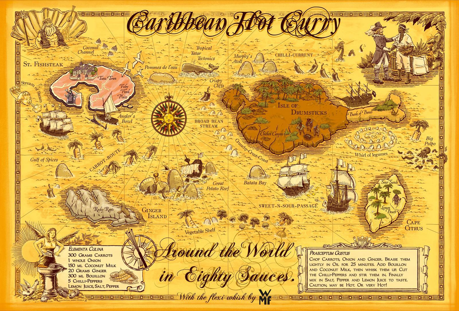 WMF Print Ad -  Caribbean Hot Curry