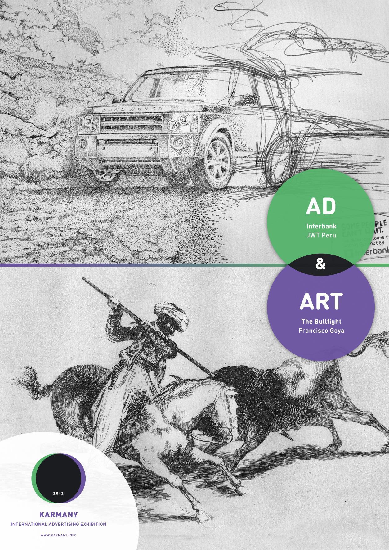 Karmany Print Ad -  Goya vs JWT