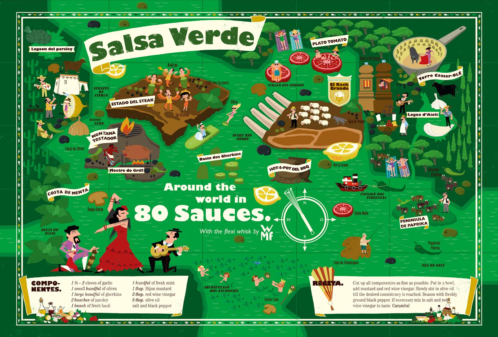 WMF Print Ad -  Salsa Verde