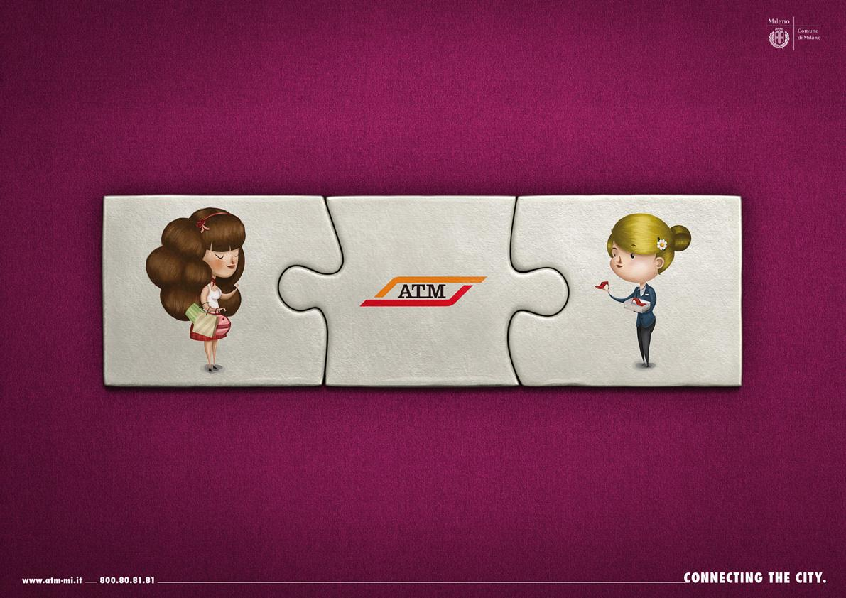 ATM Print Ad -  Red