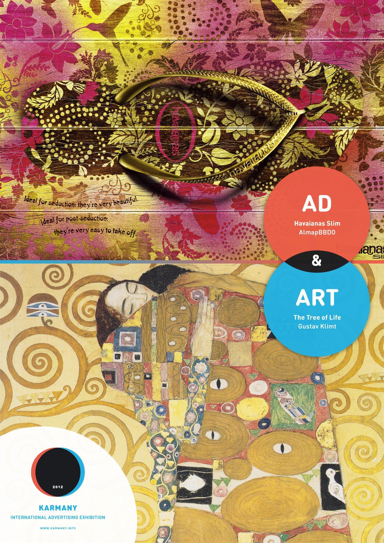Karmany Print Ad -  Klimt vs BBDO
