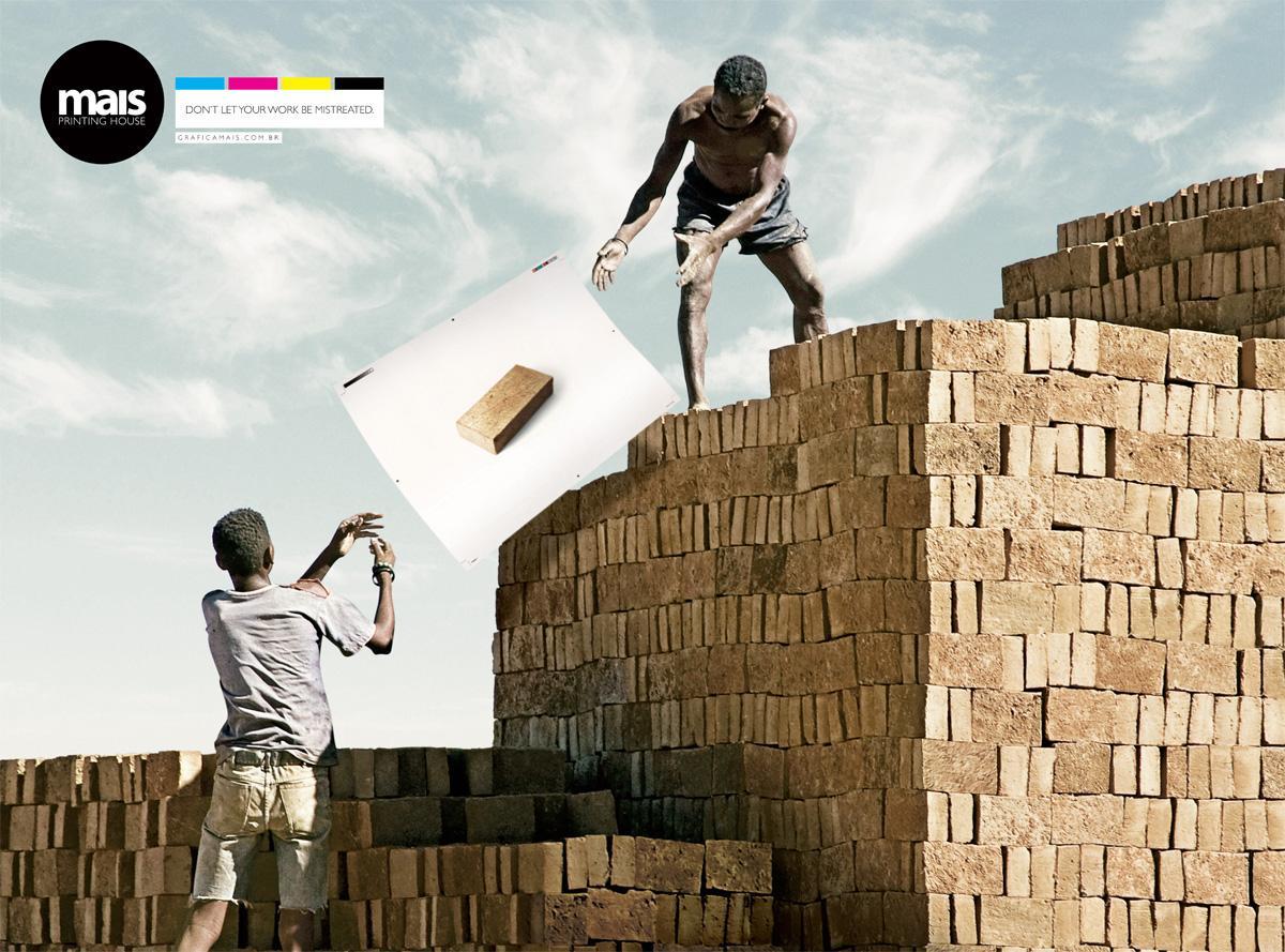 Mais Print Ad -  Brick