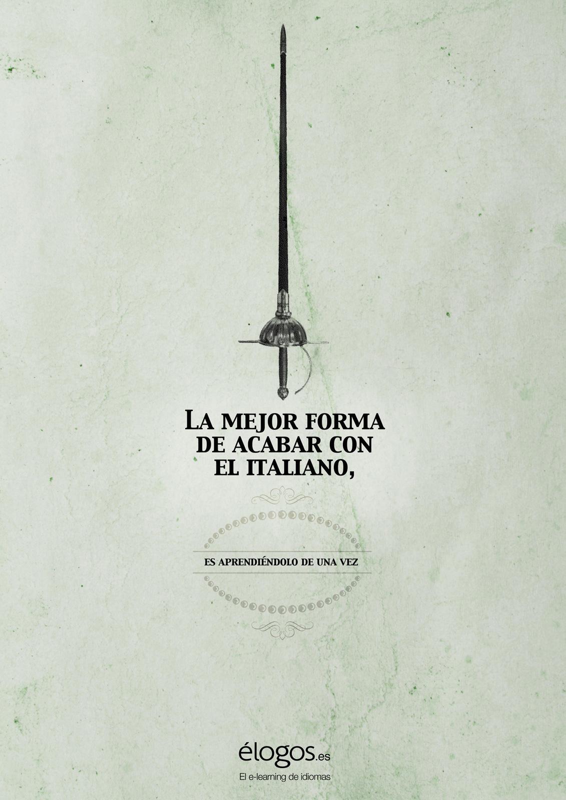 élogos.es Print Ad -  Italian