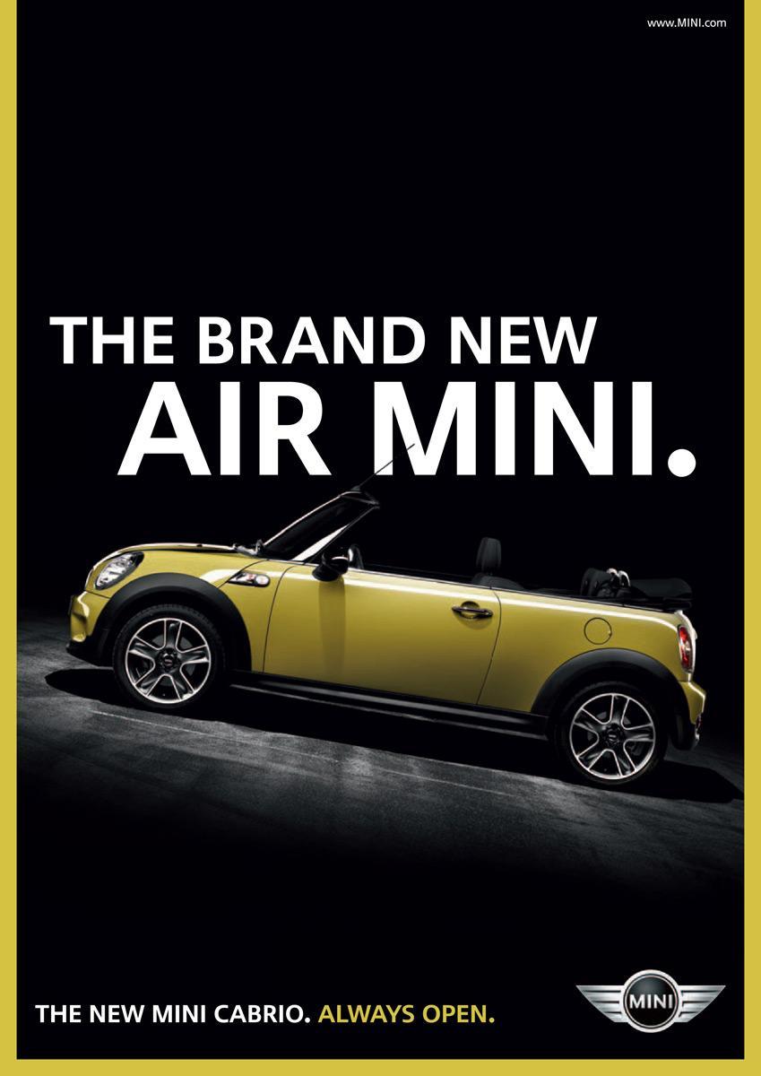 Mini Print Ad -  Air mini