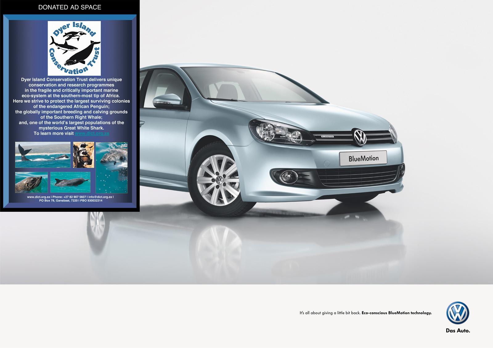 Volkswagen Print Ad -  Dyer Island Conservation Trust